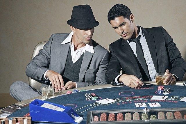 Players Gambling